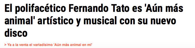 Artículo en Diario Crítico.